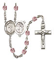 St. Sebastian Martial Arts 6mm Rosary R6000-8168