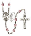 St. Christopher Rodeo 6mm Rosary R6000-8192