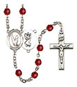 St. Christopher Gymnastics 6mm Rosary R6000-8142