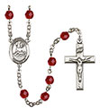 St. Honorius of Amiens 6mm Rosary R6000-8376