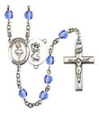St. Christopher Dance 6mm Rosary R6000-8143