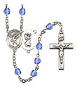St. Christopher Dance 6mm Rosary R6000-8512