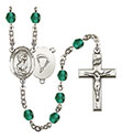 St. Christopher Paratrooper 6mm Rosary R6000-8022S7