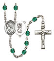 St. Christopher Basketball 6mm Rosary R6000-8502