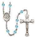 St. Lidwina of Schiedam 6mm Rosary R6001-8297