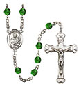St. Lawrence 6mm Rosary R6001-8063