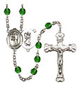 St. Christopher Archery 6mm Rosary R6001-8190
