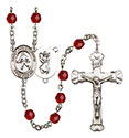 St. Christopher Field Hockey 6mm Rosary R6001-8195