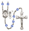 St. Christopher Martial Arts 6mm Rosary R6001-8158
