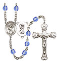 St. Christopher Dance 6mm Rosary R6001-8512