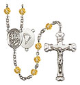 St. George Paratrooper 6mm Rosary R6001-8040S7