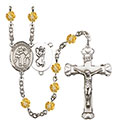 St. Christopher Wrestling 6mm Rosary R6001-8159