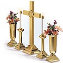 Altar Cross with 'IHS' RW-1015