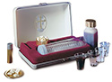 Portable Deluxe Communion Set with Oil Stock RW-28
