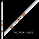 Paschal Candle Sacred Heart™ 51% from The SCULPTWAX® Collection