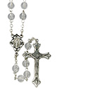 Rosary with 6mm Glass Beads SR3892