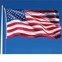 American Flag Large Outdoor Durawavez® Nylon