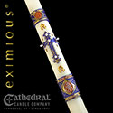 "Eximious® Hand Crafted ""Year of St Joseph®"" Paschal Candle"